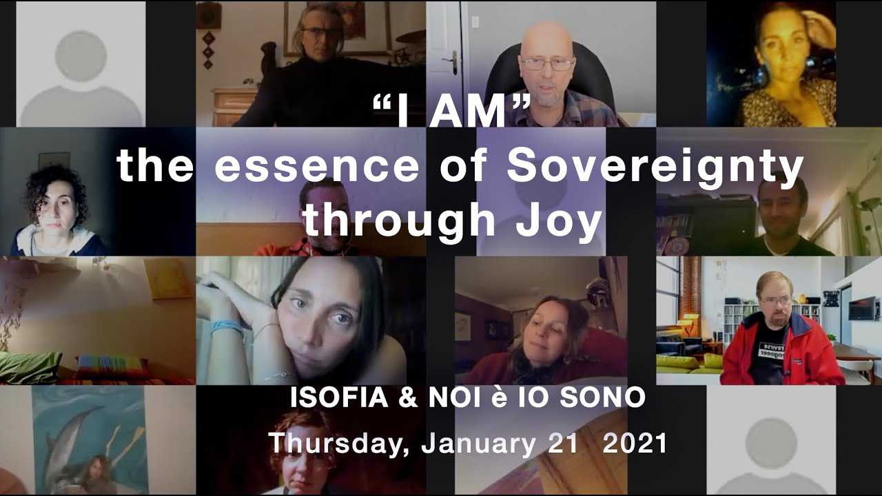 "I AM""  the essence of Sovereignty through Joy"