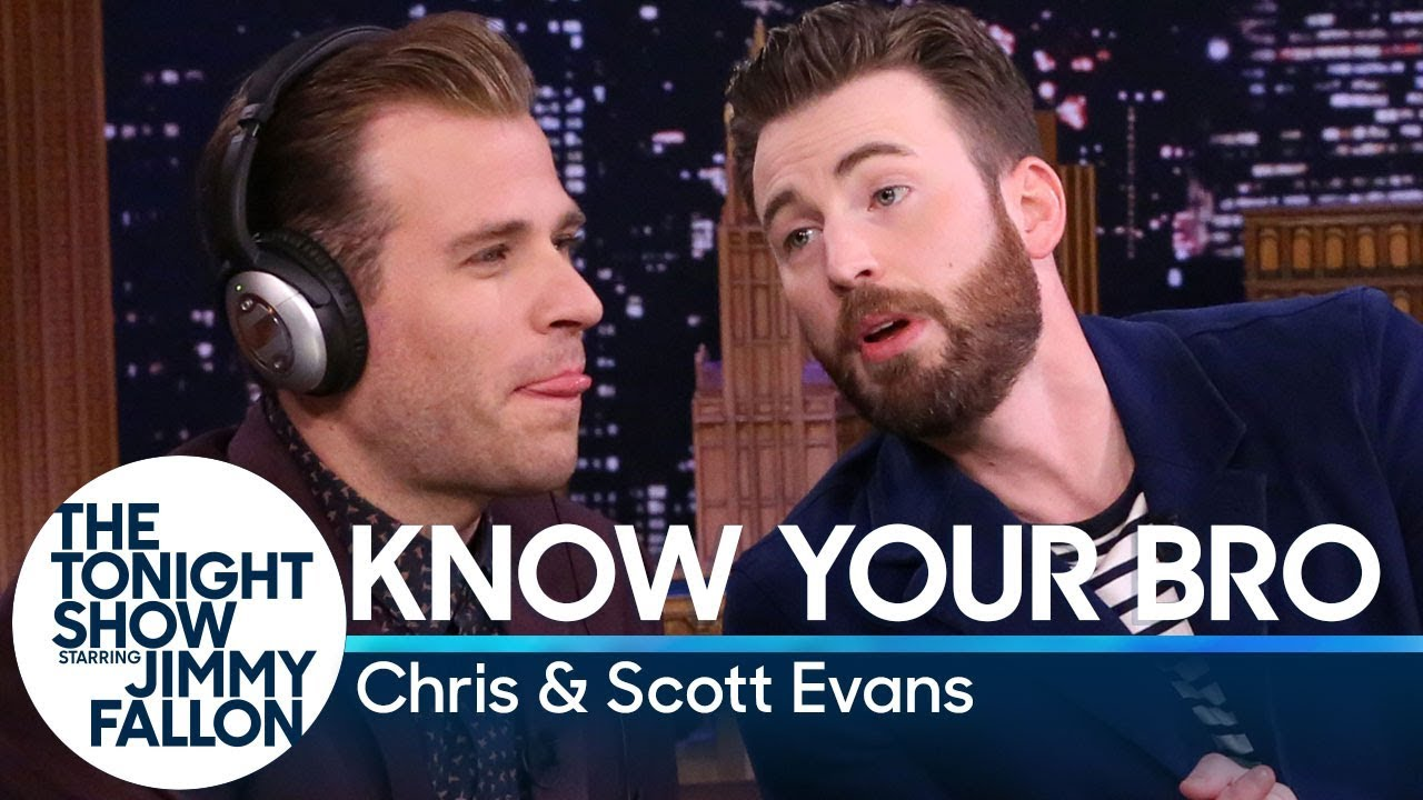 Know Your Bro with Chris and Scott Evans