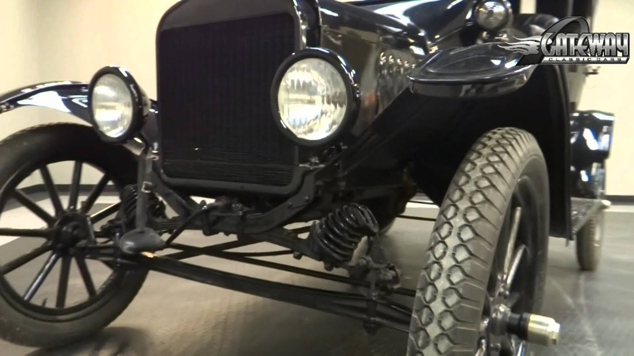 1917 Ford Model T Touring Sedan for sale at Gateway Classic Cars in ...