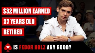 Fedor Holz: Skilled or LUCKY? ♠️ PokerStars