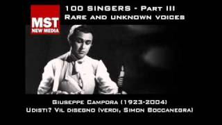 Part III: Rare and unknown voices - GIUSEPPE CAMPORA