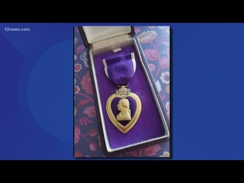 Mark - Goodwill helps return a Purple Heart to family who accidentally donated it