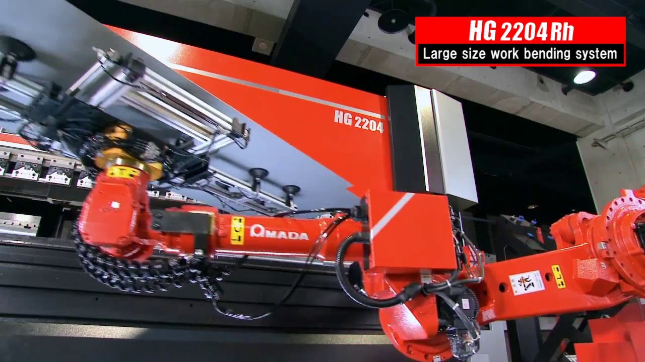AMADA HG 2204 RH Automated Bending System for large and heavy parts