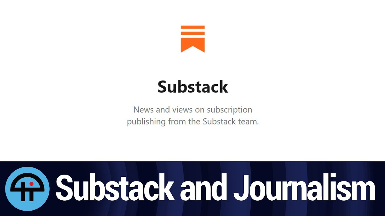 Is Substack the Future of Journalism?
