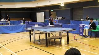 全港公開青少年乒乓球錦標賽男子 U15 組團體决賽嚴X楠 vs 林X權R2