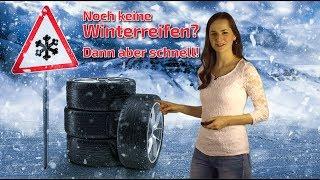 Winterreifen aufziehen: Schnee und Glätte sind im Anmarsch! (Mod.: Julia Krause)