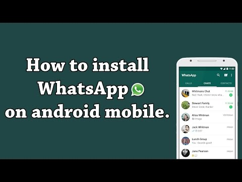 How To Download And Install WhatsApp On Android Mobile
