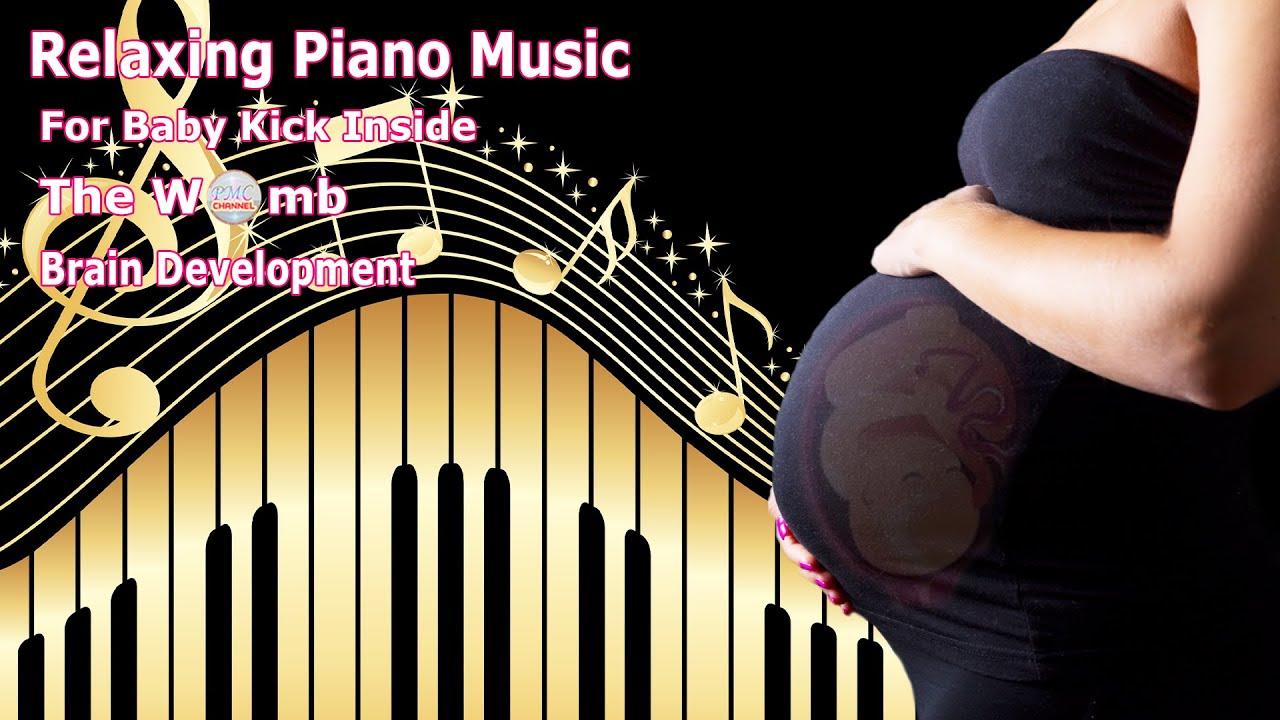 🎵🎵 Pregnancy Music to Make Baby Kick Inside The Womb 🧠👶🏻 Brain Development 🎵🎵
