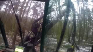Praca w lesie     Harvester_Timberjack_GoPro  