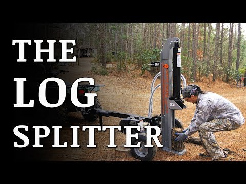 Unboxing Our 25-Ton DIRTY HAND TOOLS Log Splitter
