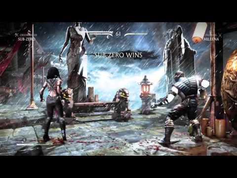 Mortal Kombat X Finish Her!!!