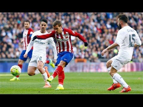 Real Madrid vs Atletico Madrid the second half 02/27/2016, La Liga: Final Score 0-1