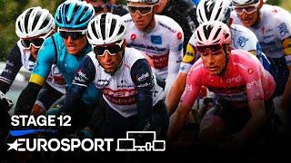 Giro d'Italia 2020 - Stage 12 Highlights | Cycling | Eurosport