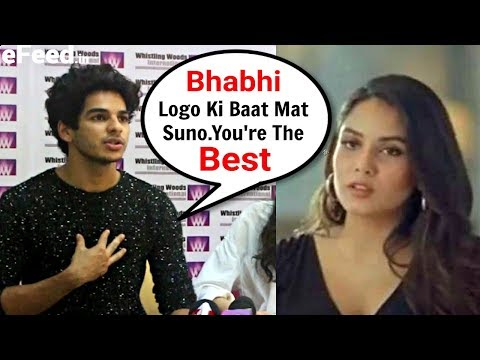 Ishaan Khattar Best Reaction On Bhabhi Mira Rajput Being Trolled For Her Ad Mp3