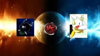 Bomberman Fantasy Race Black Louie Vs King Tirra