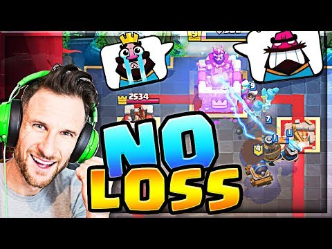 We BEAT them ALL?!? NO LOSSES - Clash Royale Modern Challenge