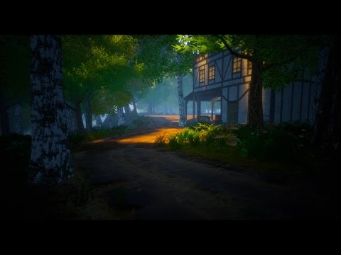 Unreal Engine 4 Decals And Roads World Building Open World