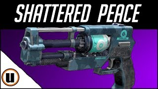 The Shattered Peace | Legendary Hand Cannon  Crucible Gameplay Review | Destiny 2