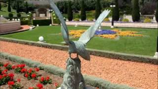 Бахайский сад, Хайфа. The Bahai Gardens, Haifa.(Красота, величие и гармония такое впечатление производят висячие Бахайские сады в Хайфе.