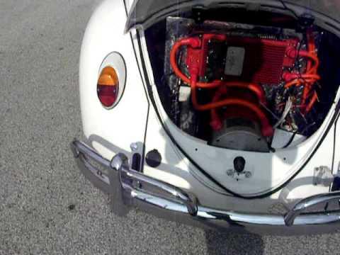 Rebirthauto Ev Vw Beetle 120 Volt Kit With Evnetics Soliton1 Controller Warp9 Motor