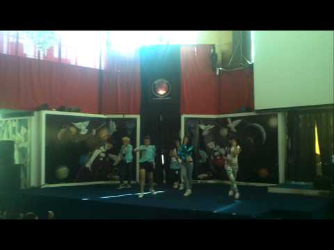 [110717] f(x)ion - Pinocchio dance cover @ Magic cafe, Artha Gading, Popcorn Event