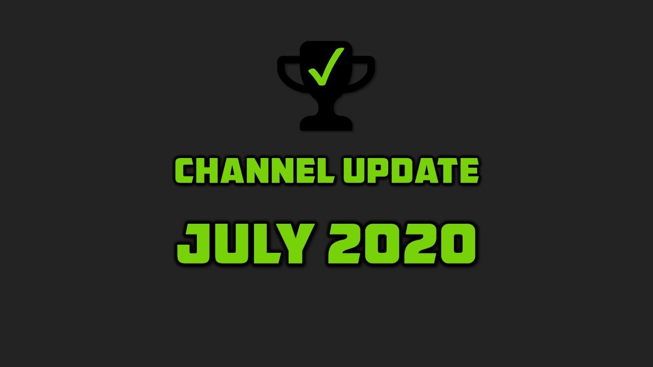 Milestones, Merch and More | Channel Update: July 2020