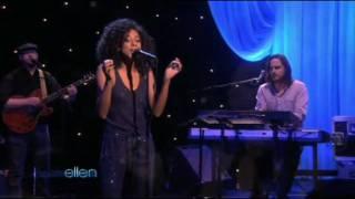 艾倫秀-肯妮貝兒Corinne Bailey Rae-Closer-The Ellen DeGeneres Show(01/28/10)
