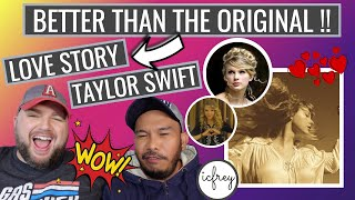 TAYLOR SWIFT - LOVE STORY (Taylor's Version) - ICFREY REACTION VIDEO