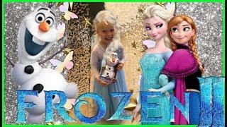 Frozen 2 Elsa talking with Olef Ariele pretends Elsa