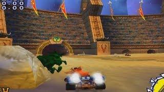 Crash Nitro Kart - Unused Online Lobby Level