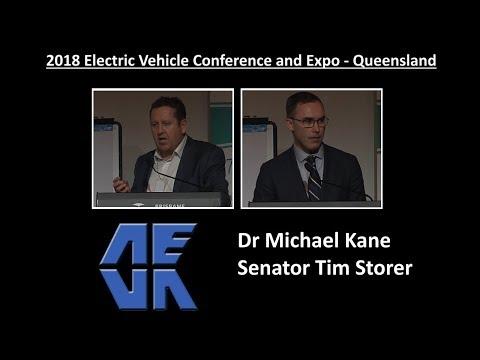 AEVA EV Expo 2018 #2 Michael Kane & Tim Storer