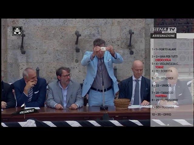 ASSEGNAZIONE PALIO AGOSTO 2019