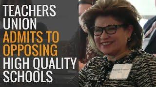 NJ Teachers Union Admits to Opposing High-Quality Schools