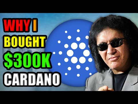 Why Gene Simmons Invested OVER $300k in Cardano (ADA)   Best Cryptocurrency to Invest?