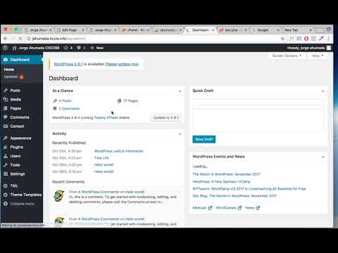 Adding PHP Code Into WordPress Using Templates