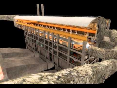 Proyecto Hidroeléctrico SOGAMOSO - 09 Central subterranea - corto.mpg