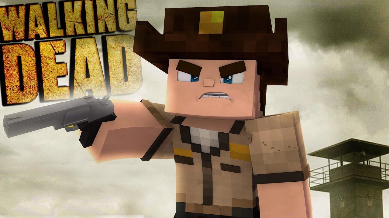 Minecraft The Walking Dead Jean Rick Grimes TWD Crafting Dead - Skins para minecraft the walking dead