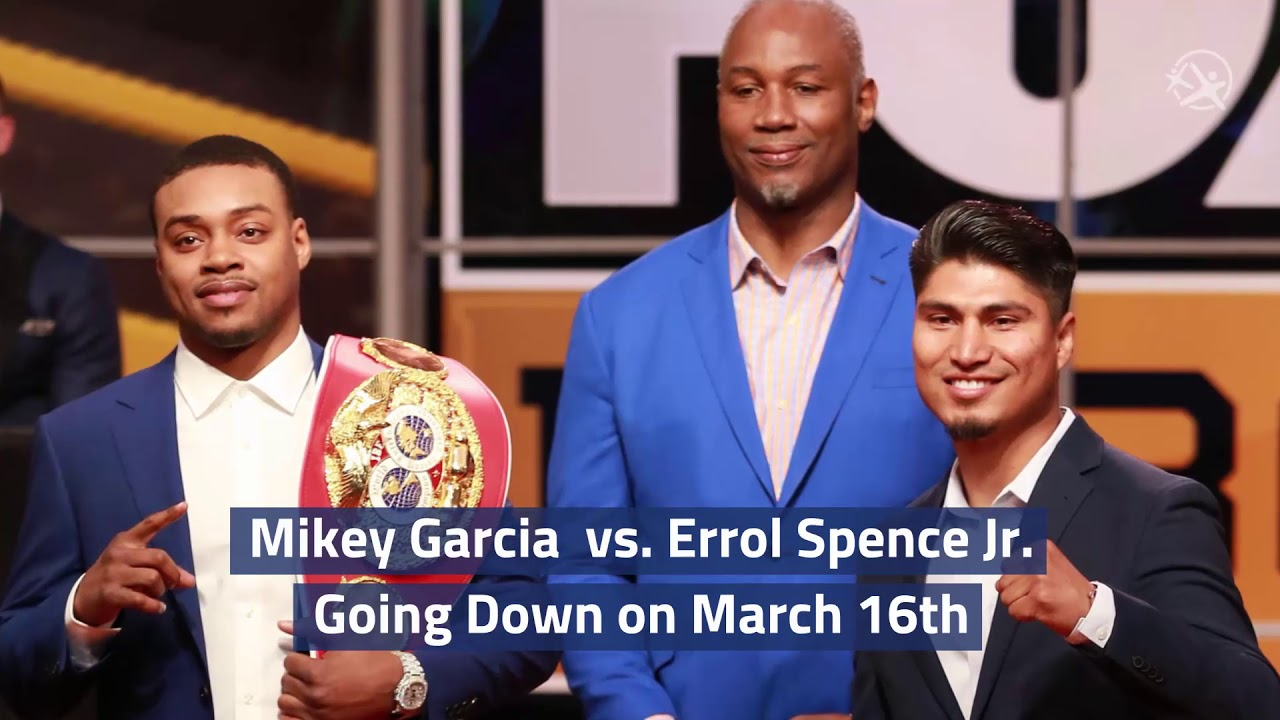 Mikey Garcia vs. Errol Spence Jr. Going Down on March 16th