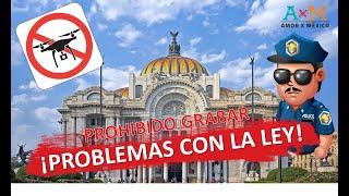 🚫 PROBLEMAS ⛔️ con POLICÍA por DRÓN  DJI  | CDMX