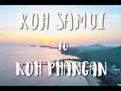 KOH SAMUI TO KOH PHANGAN   THAILAND VLOG