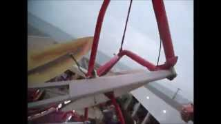 Paratrooper On-Ride POV at Funland Rehoboth Beach