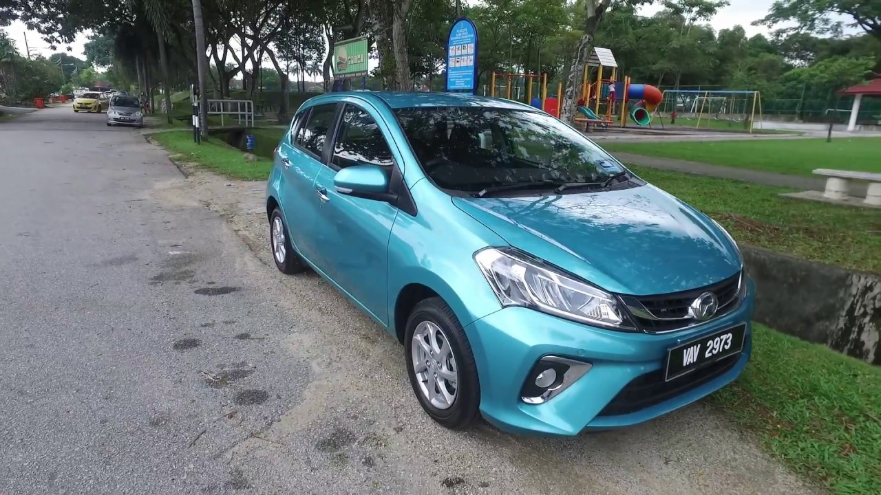 2018 Perodua Myvi 1 3 X & 1 5 Advance Review