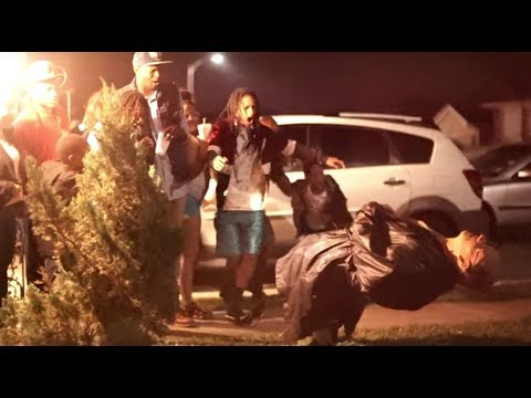 Decapitating a White Elder In The Hood Prank
