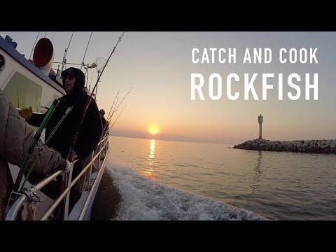Charter Boat Fishing: Catch And Cook Rockfish (Half Moon Bay Sportfishing)