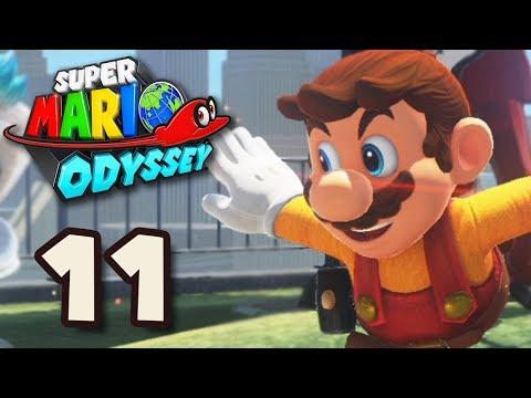 ENFIN AU PAYS DES GRATTE-CIEL #11 Let's Play Super Mario Odyssey