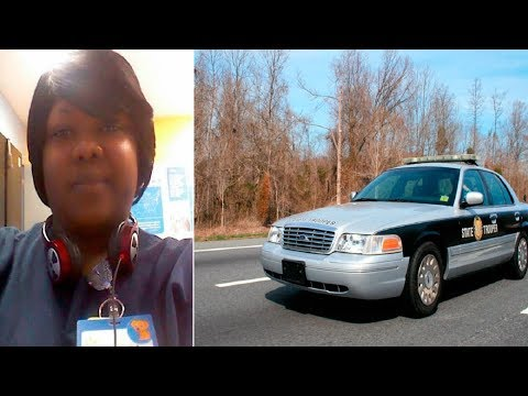 Woman Cautiously Approaches State Trooper Only To Have His Actions Towards Her Go Viral
