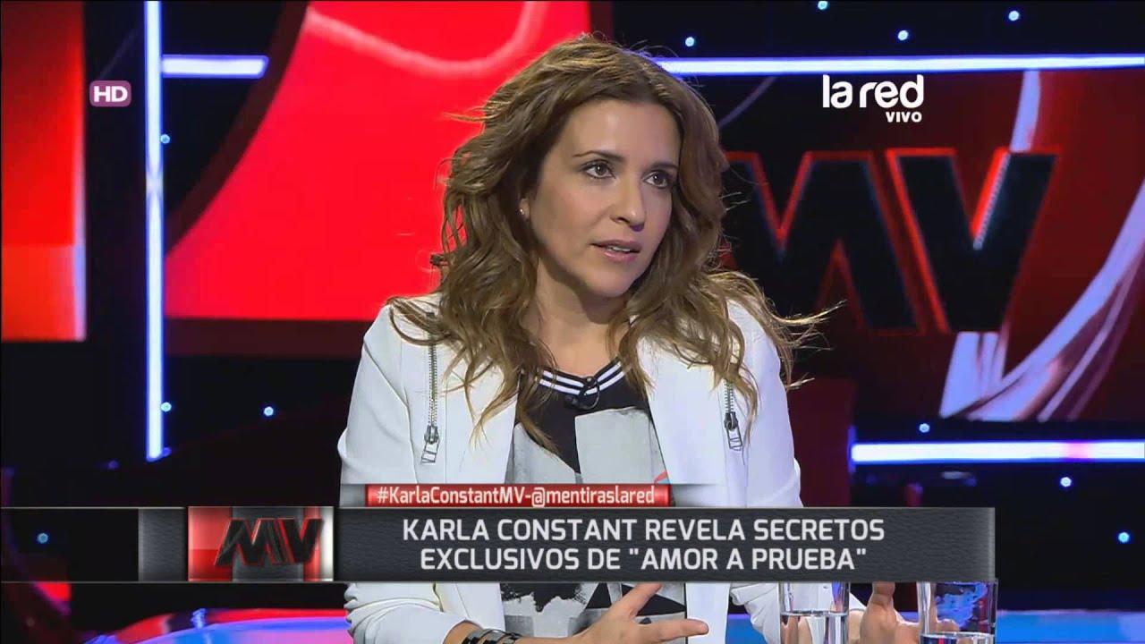 """Karla Constant: """"En Amor a Prueba hubo más sexo de lo que ..."""