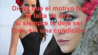 Natalia Oreiro  Me Muero De Amor (with lyric) Espanol