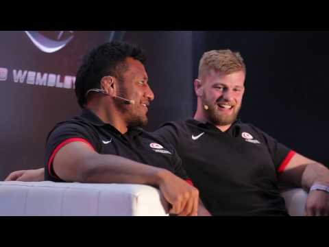 Club Wembley, an Evening with Rugby Stars