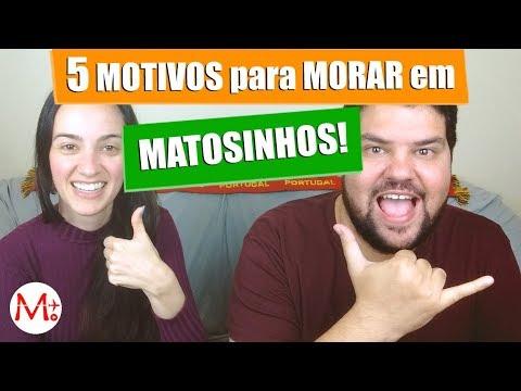 5 ÓTIMOS MOTIVOS para VIVER em MATOSINHOS, PORTUGAL! | Canal Maximizar